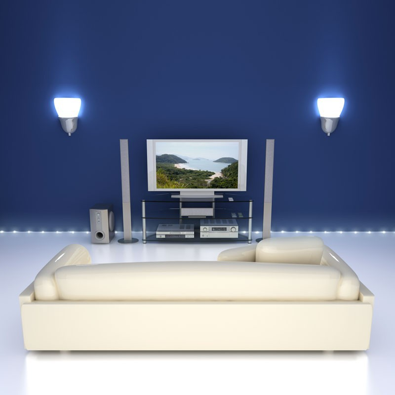 ioio smd led strip f r den au enbereich 1 m licht effekte led. Black Bedroom Furniture Sets. Home Design Ideas