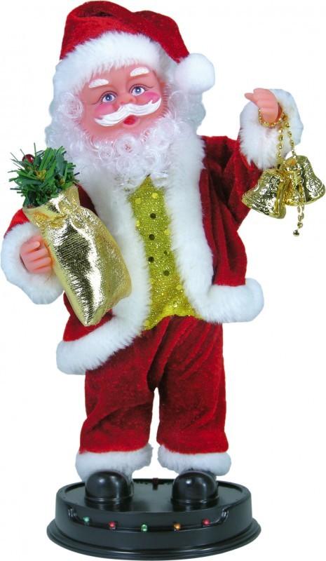 ocsm singender weihnachtsmann tanzt zu jingle bells ebay. Black Bedroom Furniture Sets. Home Design Ideas