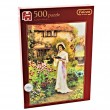 Jumbo Spiele Puzzle Garden Poetry Falcon - 500 Teile B-Ware